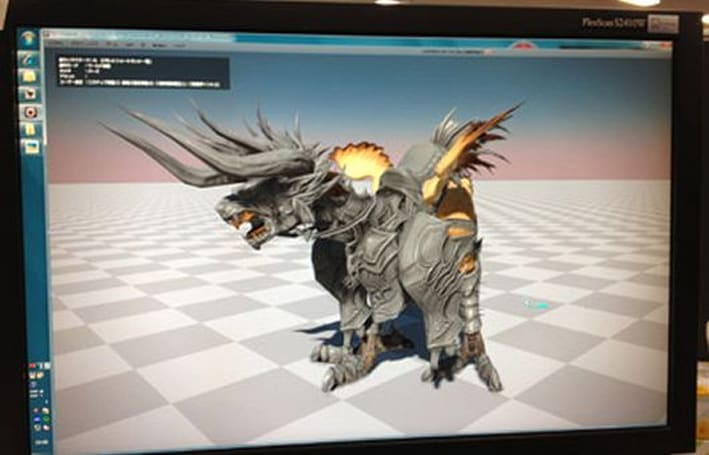 Final Fantasy XIV developer blog reveals chocobo-barding-in-progress