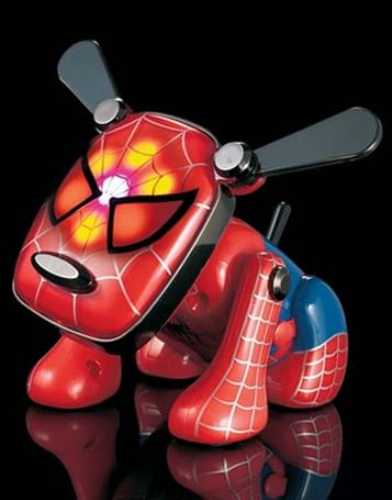 Spidey-inspired Spi-Dog wags to your iPod