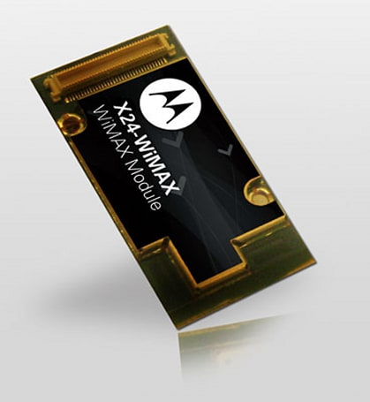 Motorola shows off X24 WiMAX concept module for cars