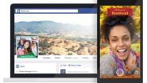 自己的相框自己做,Facebook 新增相框特效功能