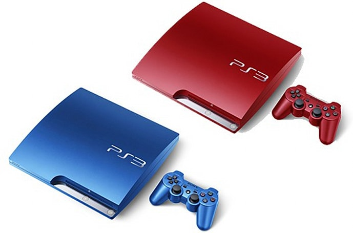 Two new PlayStation 3 bundles (in blue and red) headed to Japan