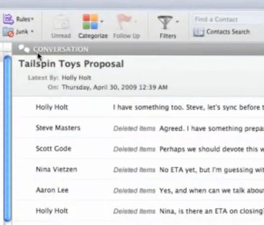 Microsoft previews Office for Mac 2011