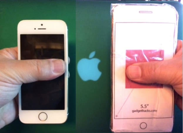 Shedding some light on iPhone 6 screen sizes and one-handed use