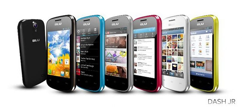 BLU Products launches trio of Dash smartphones starting at $49