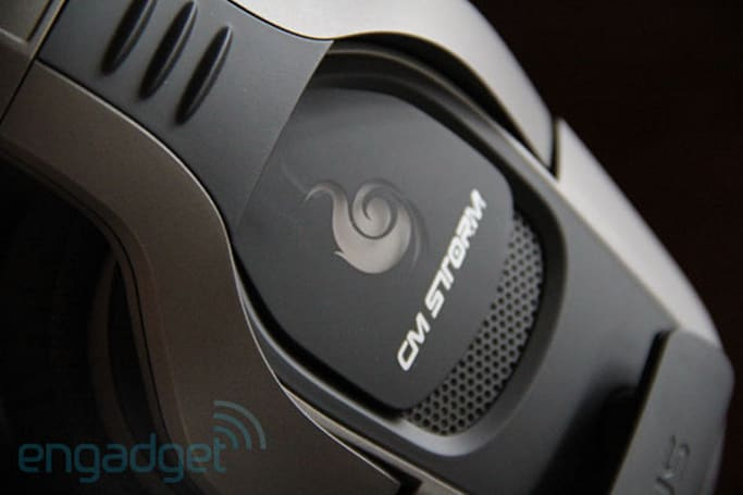 CM Storm Sirus gaming headset hands-on
