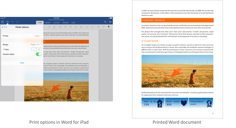 Microsoft Office apps for iPad gain printing abilities and other news from April 29, 2014