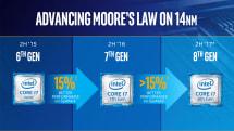 英特尔的第八代 Core 处理器不会有革命性的改变