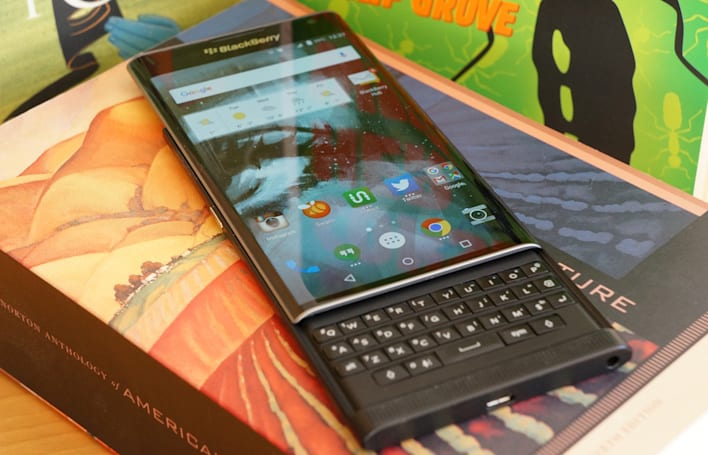 BlackBerry CEO says Verizon, T-Mobile and Sprint will sell the Priv