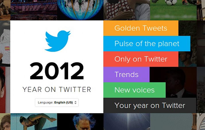 The year on Twitter: from the ocean floor to Mars, tragedy to triumph