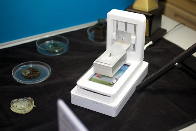 Add a 3D printer to the list of things your phone can replace