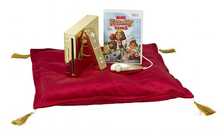 THQ ships gold-plated Wii to Queen of England
