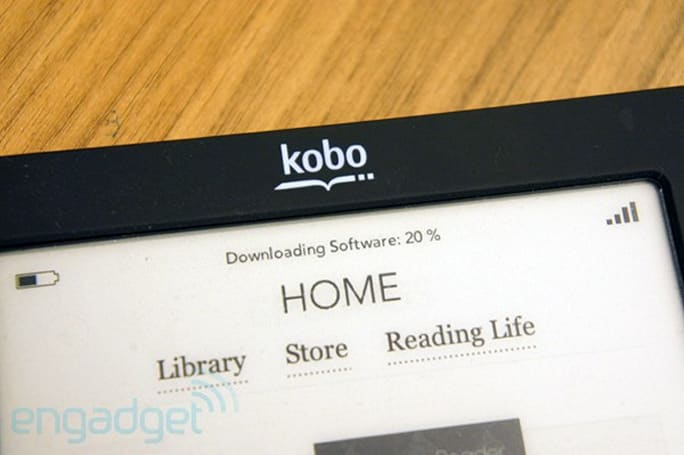 Kobo updates Touch eReader software and Desktop app, heads to Italy this fall