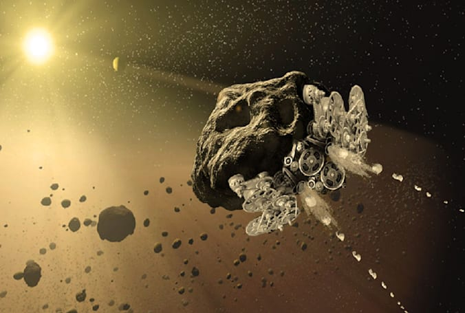NASA is funding asteroid spaceships and other far-out concepts