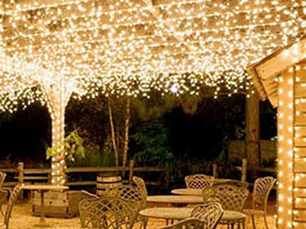 Outdoor Decorative String Lights (2-Pack)