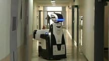 Robo-guard the South Korean correction service robot says 'stay out of trouble' (video)