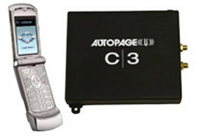 AutoPage C3 gives you remote access to your car