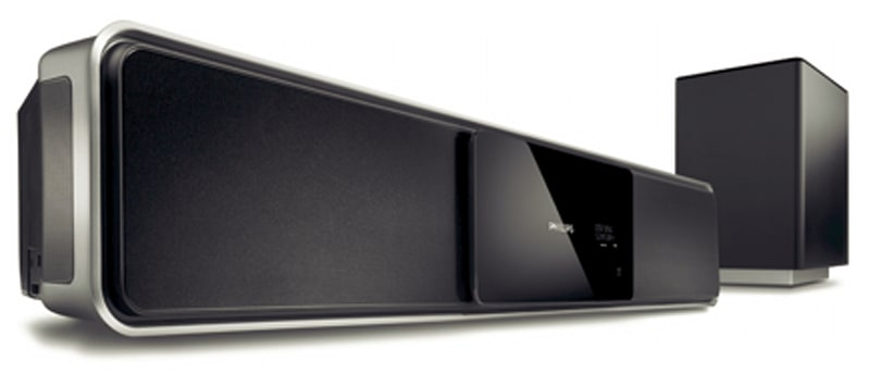Philips intros the Ambisound HTS6100 surround bar and HTS6515D HTIB