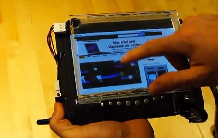 New shear touch technology lets you skip a double-tap, push your device around (video)