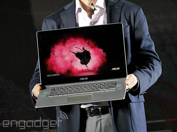 ASUS' Zenbook NX500 is a thin and light laptop with a 4K screen