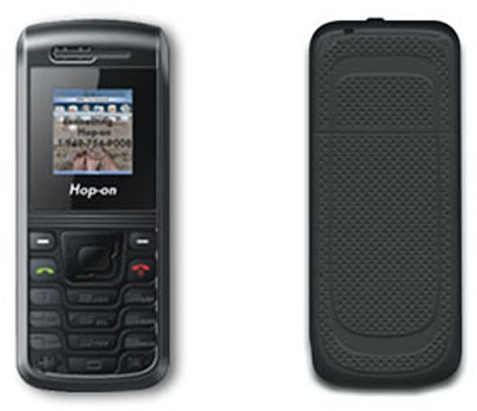 Hop-on's $13.99 HOP1811 makes calls faster than any other handset in the world