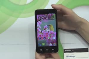 Gigabyte Maya, Sierra and Simba Smartphones Hands-On