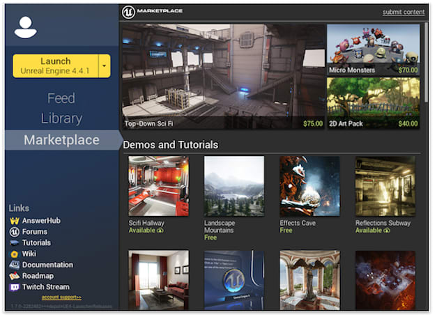 Would-be game makers can sell each other new levels, art in Unreal Engine 4