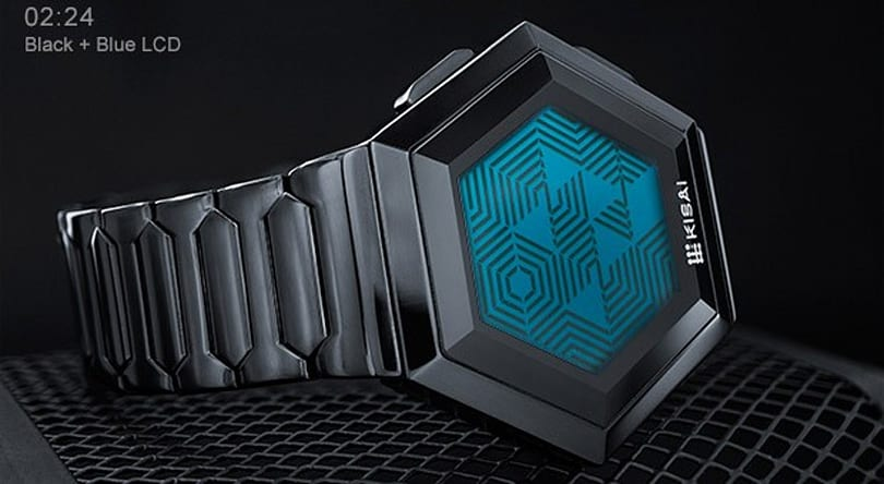 Tokyoflash turns hexagonal fan concept watch into $109 reality (video)