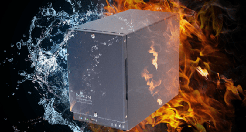 ioSafe 214 NAS: Keeping data safe from fire, water, and drive failures