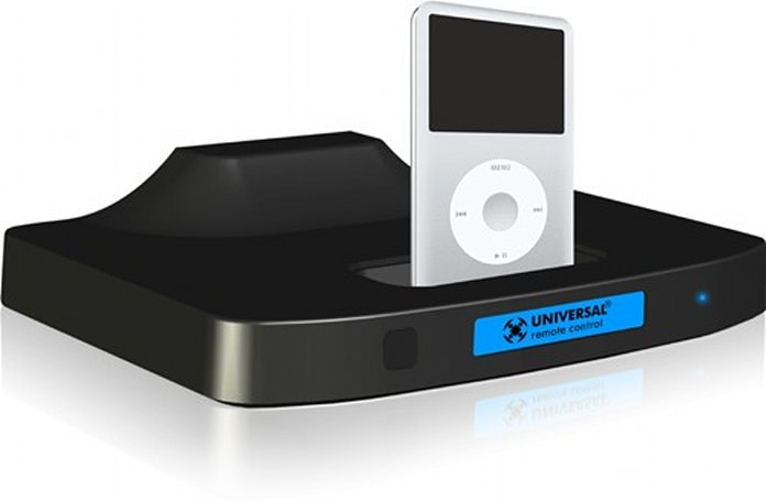URC's PSX-2 iPod dock enables control via universal remote