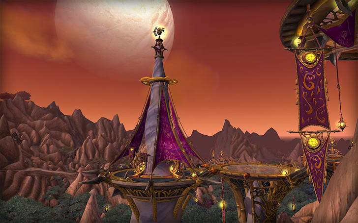 Build an inn or trading post in World of Warcraft's Spires of Arak zone
