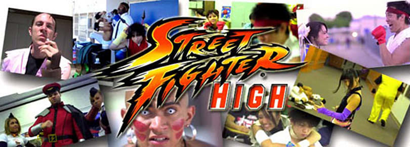 Street Fighter High: The Musical, in 2 parts