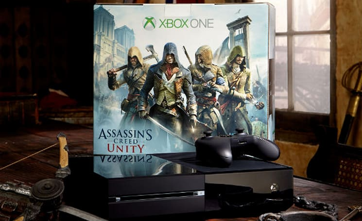 Console Madness: Joystiq is giving away an Xbox One Assassin's Creed: Unity bundle