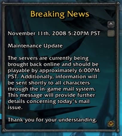 Weigh in on the downtime debacle