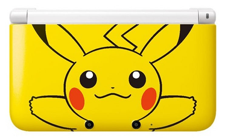 Take a peek at the Japan-only Pokemon Center 3DS XL