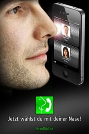 NoseDial lets you dial your iPhone with your nose