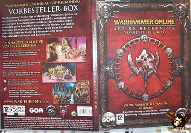 German WAR box confirms CE and preorder info