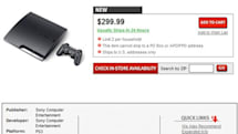 160GB PS3 slim spotted on GameStop's website