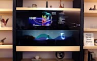 Say hello to Panasonic's invisible TV