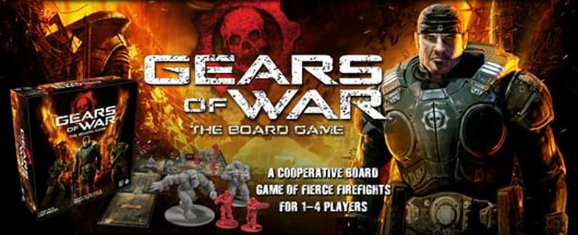 Scratch one grub (card)! Gears of War board game headed to retail