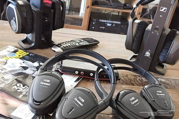The best wireless home theater headphones