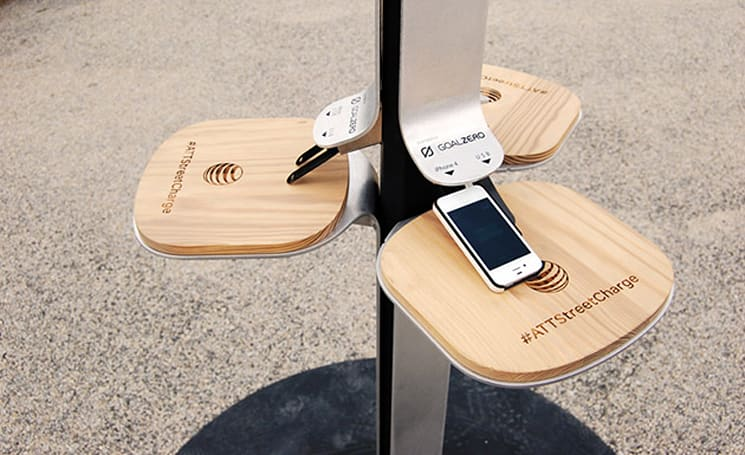 AT&T's solar charging stations invade New York again
