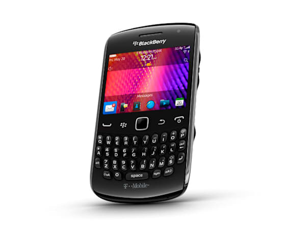 T-Mobile's BlackBerry Curve 9360 available for $79 on September 28th, swanks it up with merlot variant