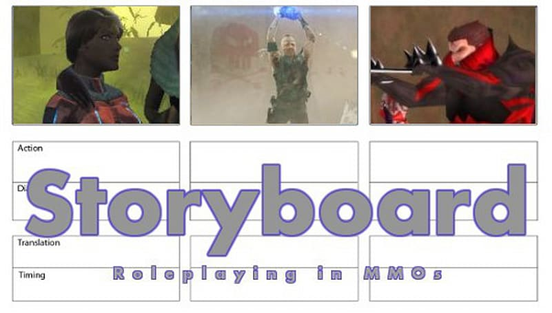 Storyboard: The characters you like