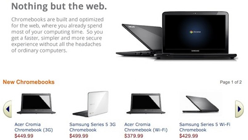 Samsung and Acer Chromebooks now available for pre-order at Best Buy and Amazon
