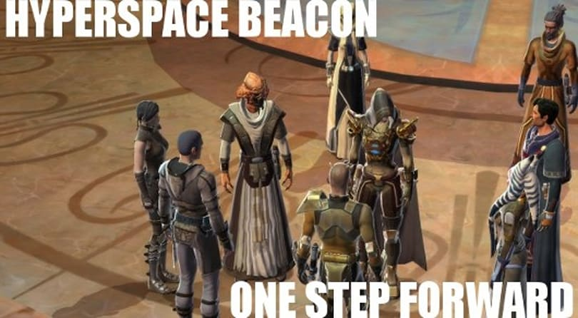 Hyperspace Beacon: One step forward...