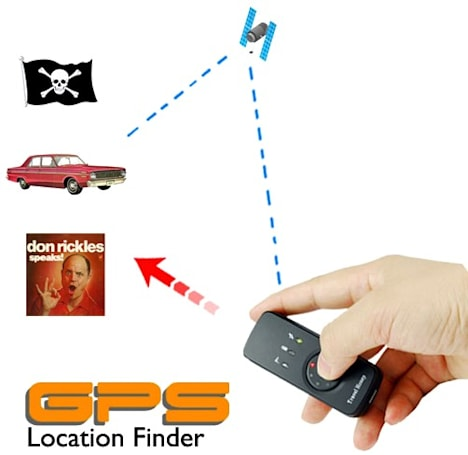 Travel Honey GPS functions as a homing device, photo tagger, party favor