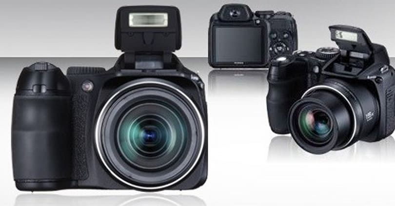 FujiFilm's 10 megapixel S2000HD with 15x wide angle zoom quietly introduced