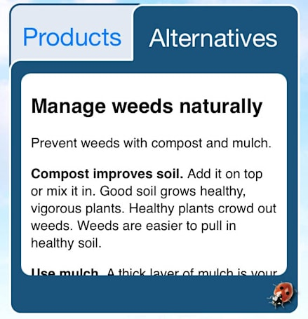 Garden naturally with Grow Smart, Grow Safe for iOS