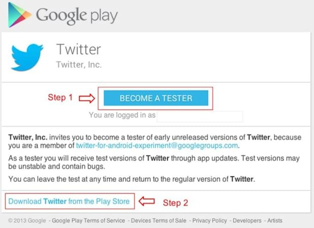 Twitter intros Android Alpha program, lets members test new features even sooner
