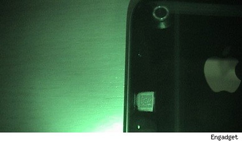 Your iPhone 3G contains a hidden code